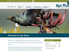 A new site: Ngā Manu Nature Reserve