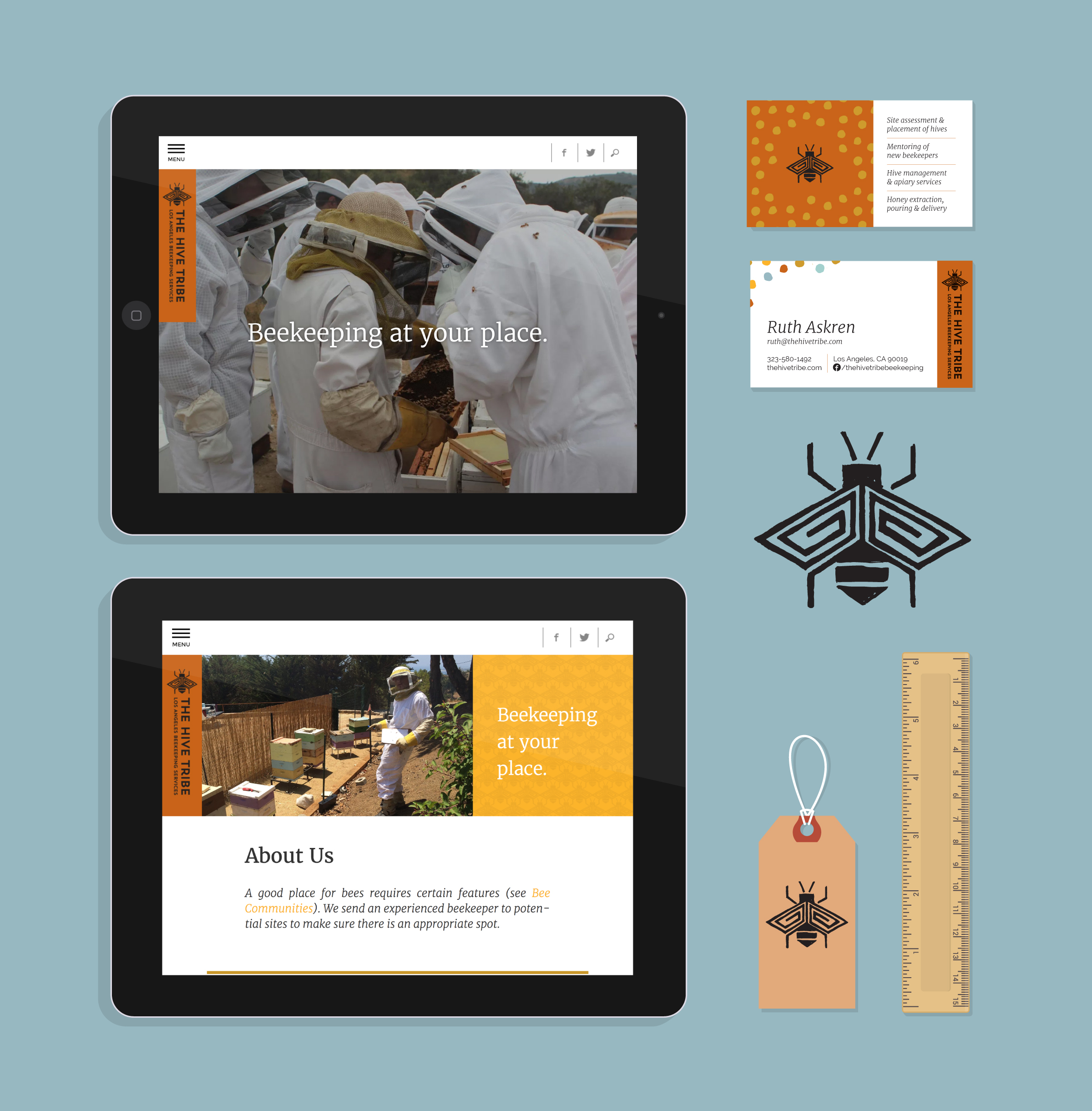 The Hive Tribe Brand Collateral