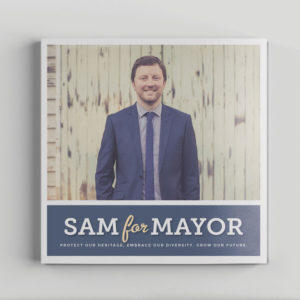 Sam Broughton Mayoral Campaign publication