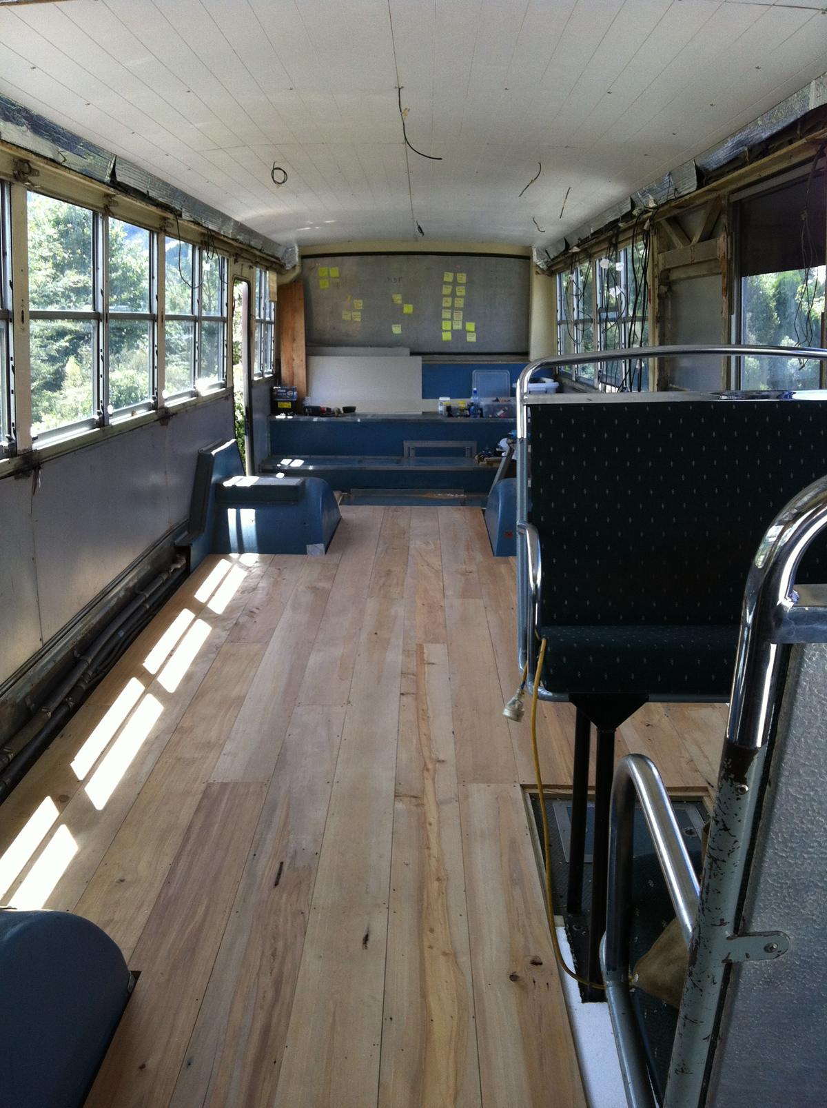 Housebus bedroom before