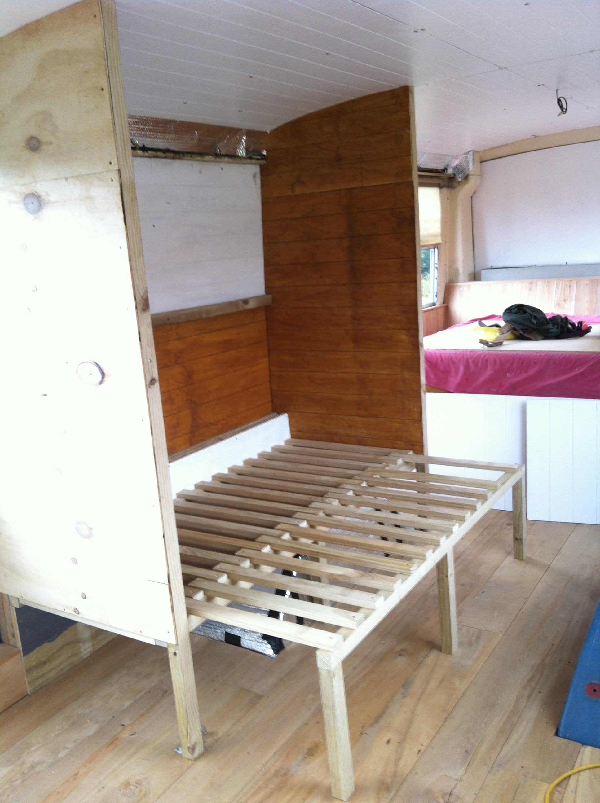 Pull out bunk
