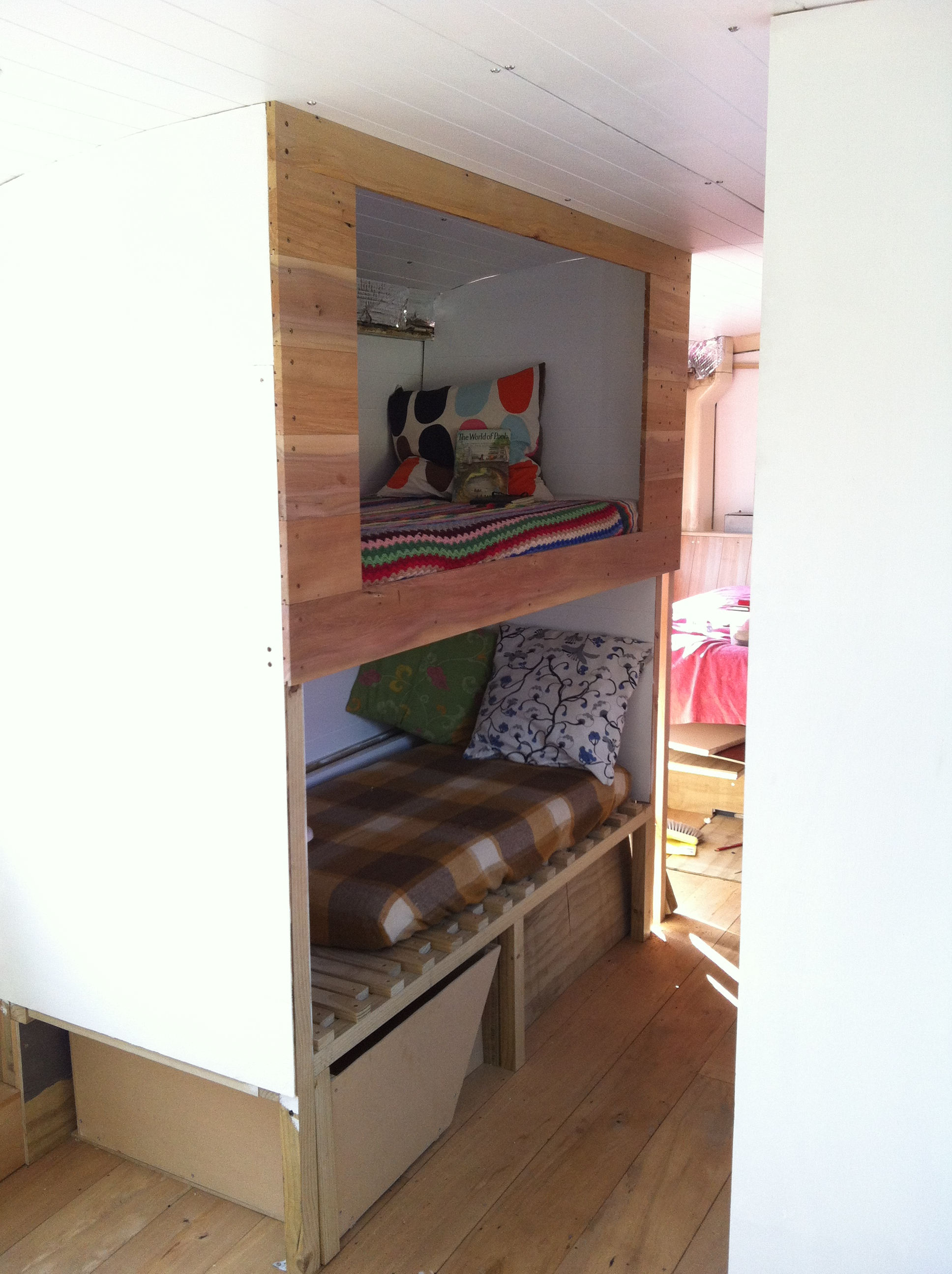 Front of the bunk