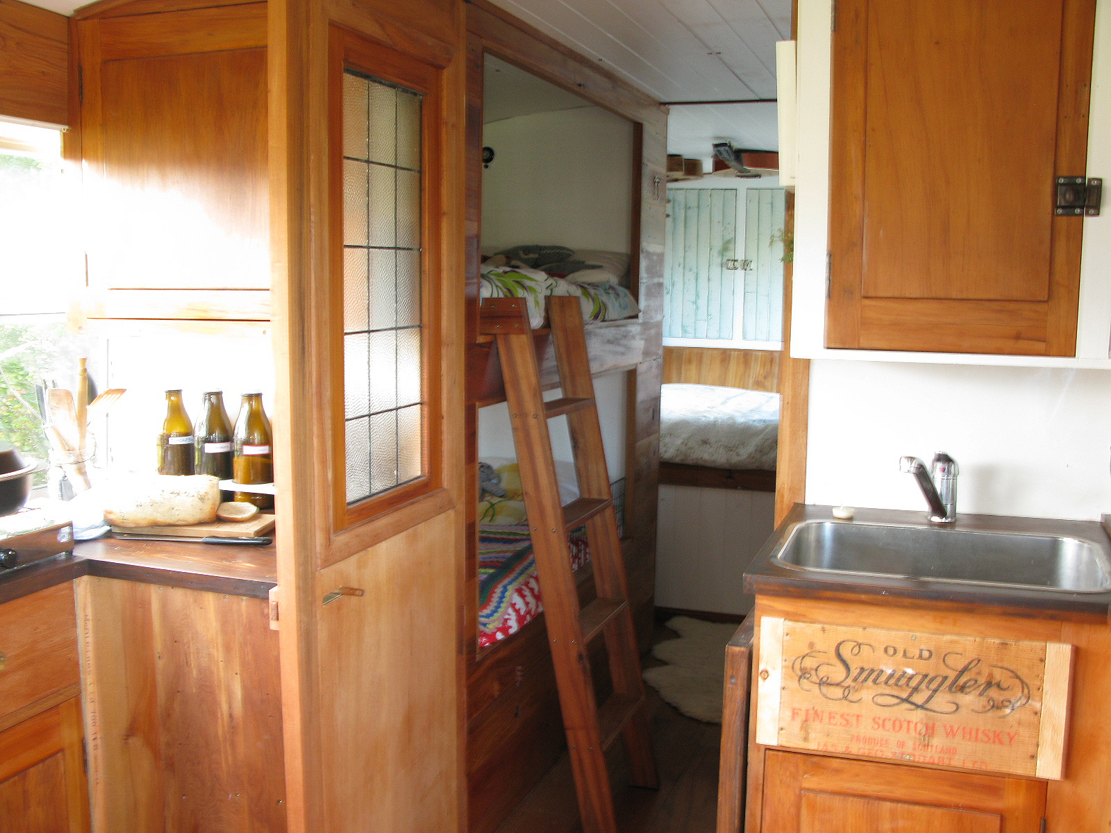 Kitchen and bunks