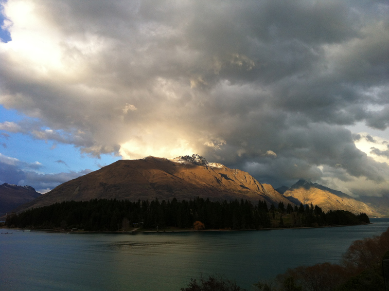 Across Lake Wakatipu