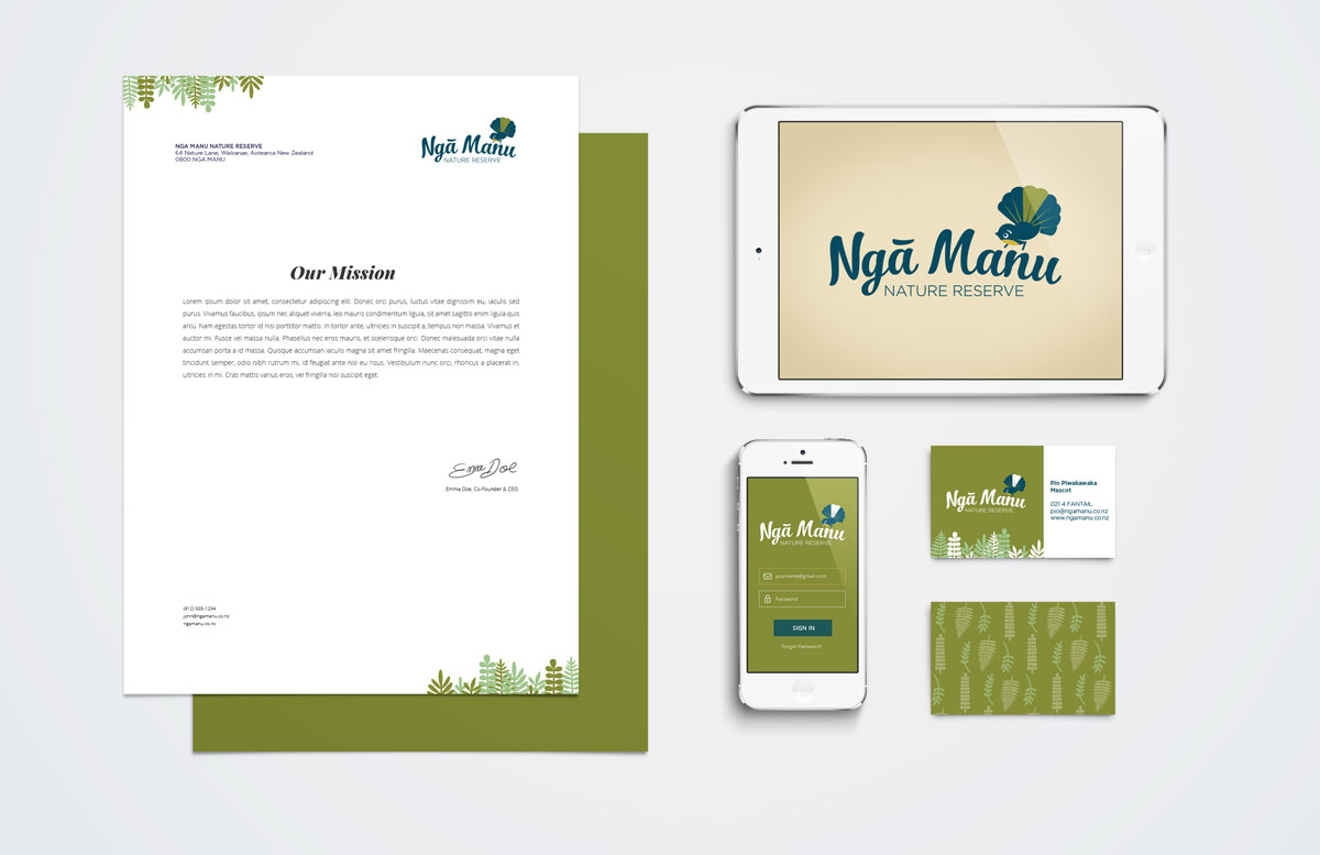 Nga Manu stationary