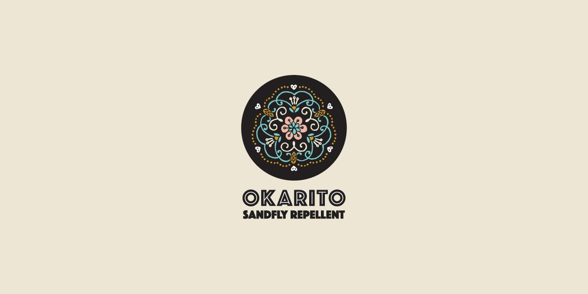 Okarito Sandfly Repellent logo