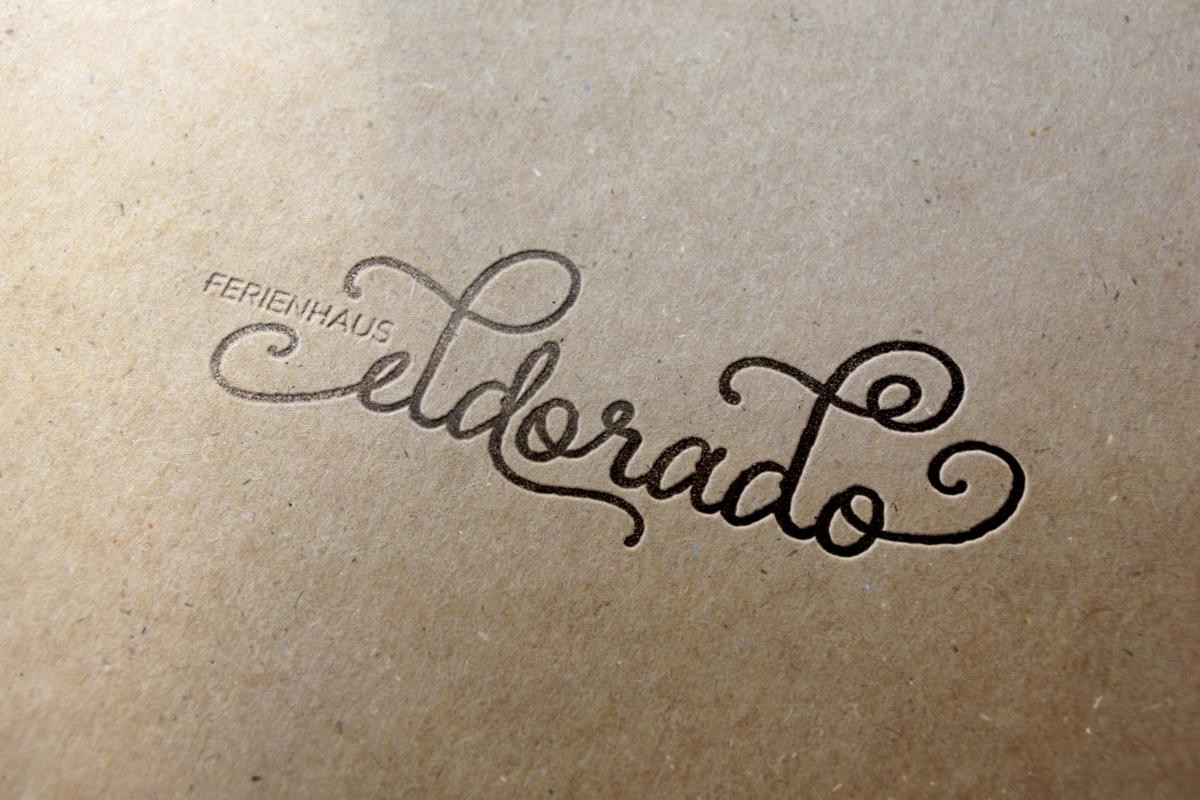 Eldorado holiday accommodation letterpress