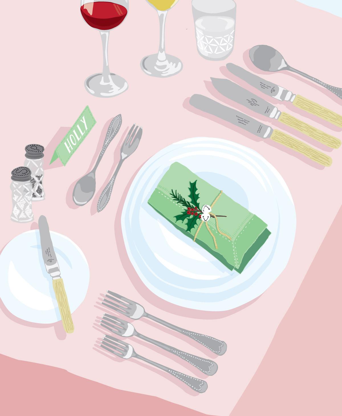Mit Liebe Tisch