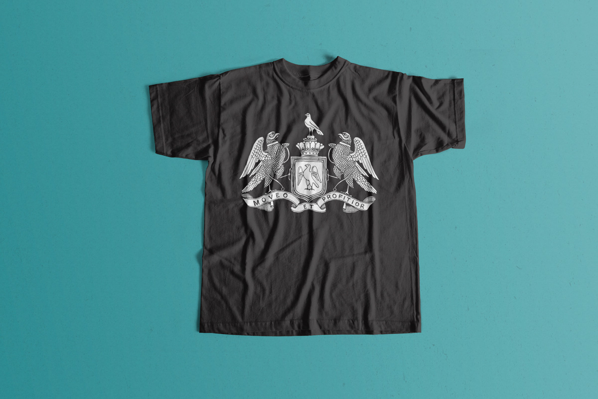 Mounted Rifles t-shirt mockup