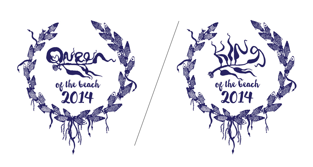 Hafenhoppers king and queen of the beach 2014