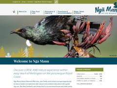 A new site: Ngā Manu Nature Reserve